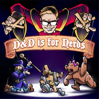 D&D is for nerds cover image