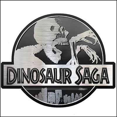 Dinosaur saga cover art